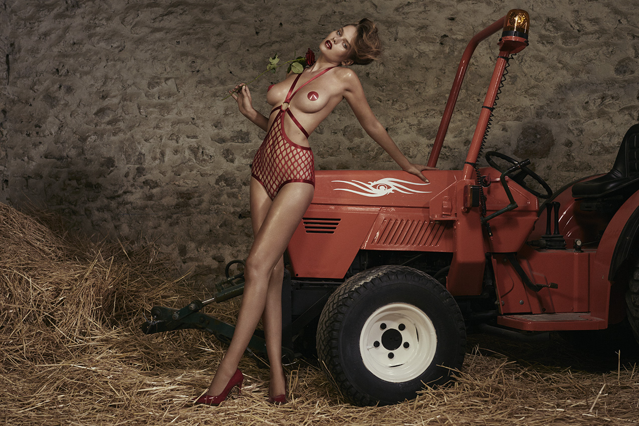 Love Retouch - Advertising - Agent Provocateur : Sebastian Faena