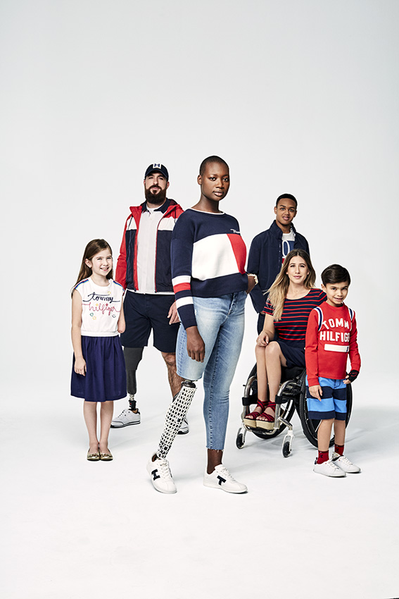 Love Retouch - Advertising - Tommy Hilfiger Adaptive Range : Paul Mclean