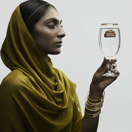 Love Retouch / Advertising / Stella Artois: Nadav Kander
